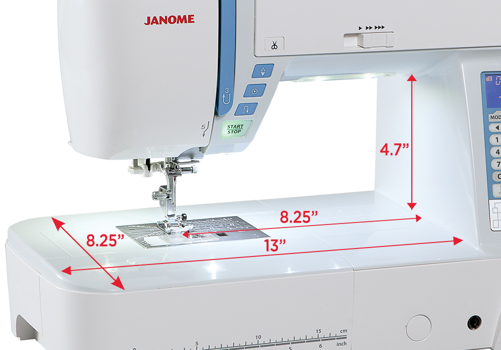 Janome Skyline S5 Continental Sewing Center