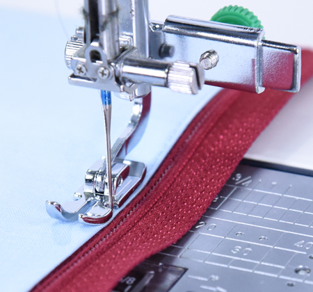 Janome America World's Easiest Sewing Quilting Embroidery Interesting Zipper Foot For Sewing Machine