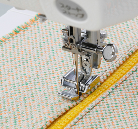 how to put zipper foot on sewing machine