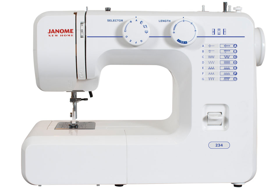 easiest sewing machine to thread
