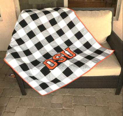 Buffalo Plaid Quilt By Michelle Hart