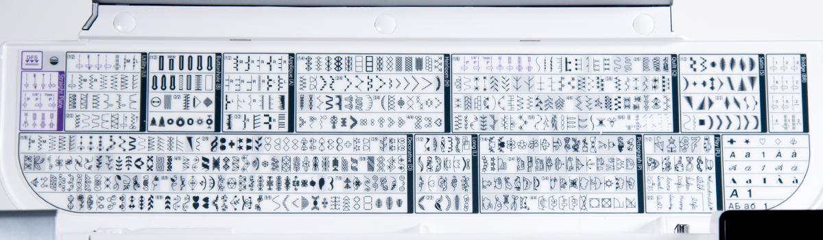 15k stitches banner - Horizon Quilt Maker Memory Craft 15000