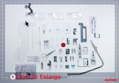 accessories sm - Horizon Quilt Maker Memory Craft 15000