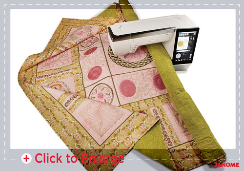 big quilt sm - Horizon Quilt Maker Memory Craft 15000