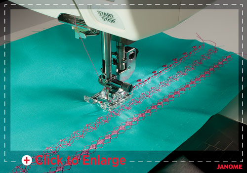 custom stitches sm - Horizon Quilt Maker Memory Craft 15000