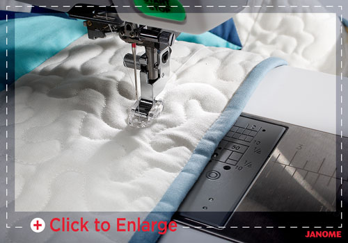 free motion sm - Horizon Quilt Maker Memory Craft 15000