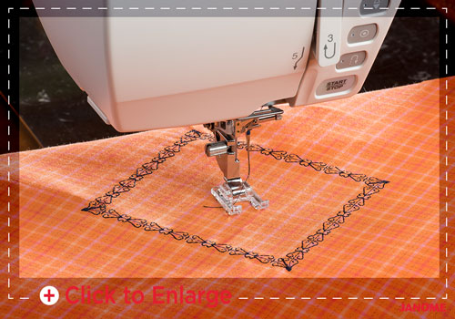 tapering sm - Horizon Quilt Maker Memory Craft 15000