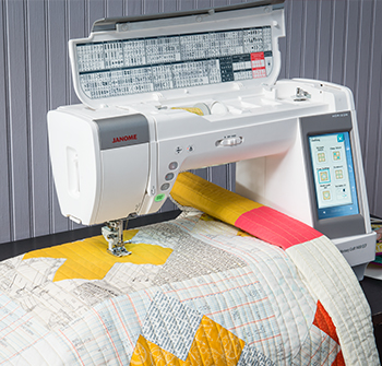 Janome America: World's Easiest Sewing, Quilting, Embroidery ... : machine quilting at home - Adamdwight.com