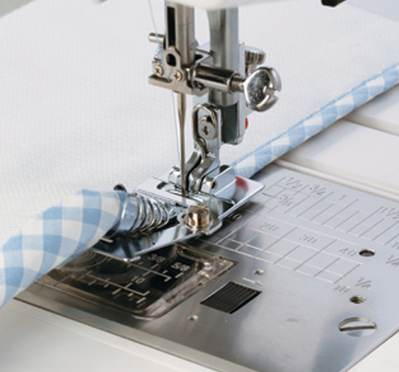 Janome America World's Easiest Sewing Quilting Embroidery Stunning Sewing Machine Binding Foot