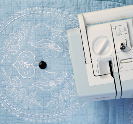 Janome Circular Sewing Attachment