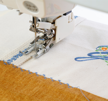 Janome America: World's Easiest Sewing, Quilting, Embroidery ... : ditch quilting foot - Adamdwight.com