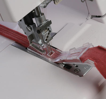 Janome America World's Easiest Sewing Quilting Embroidery Cool Sewing Machine Serger Attachment