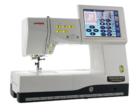 Janome America World's Easiest Sewing Quilting Embroidery Mesmerizing Janome Memory Craft Mc 9700 Sewing And Embroidery Machine