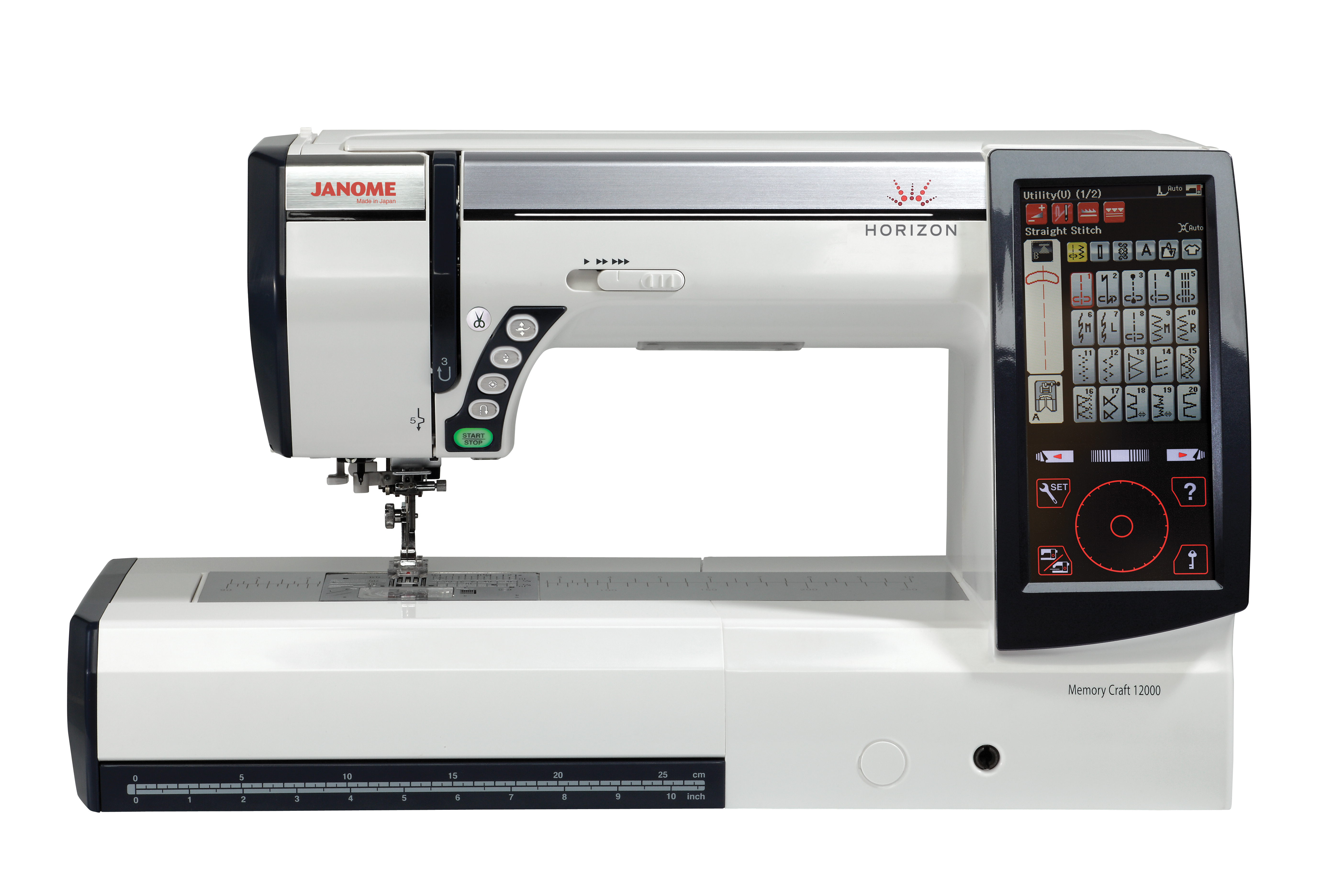Janome memory craft 9900 - Key Features