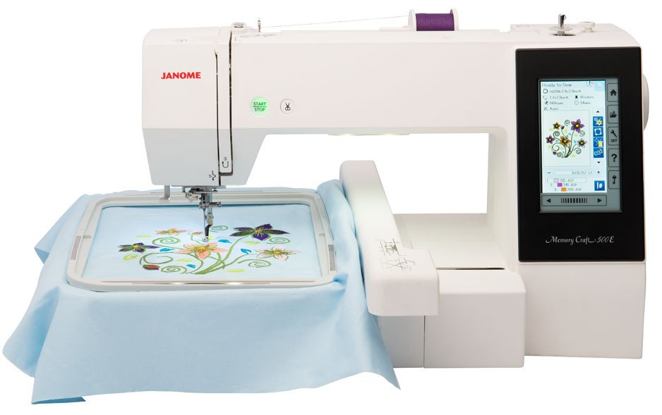 Janome america world 39 s easiest sewing quilting for Janome memory craft 350e manual