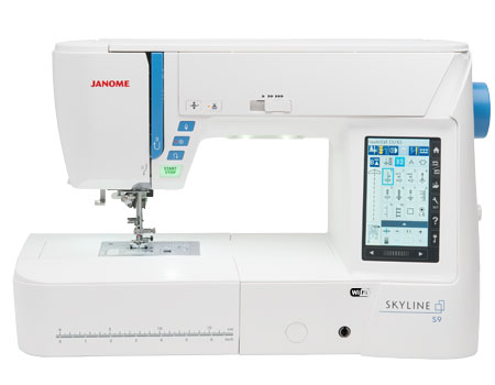 Janome America World's Easiest Sewing Quilting Embroidery Beauteous Embroidery Sewing Machine