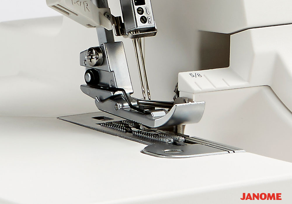 Janome AirThread 40D Professional Adorable Feed Dog Sewing Machine Function
