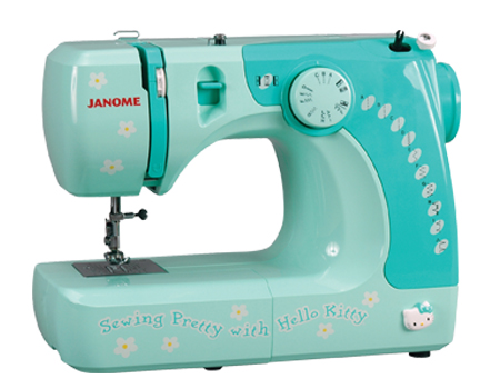 Janome America World's Easiest Sewing Quilting Embroidery Unique Janome Hello Kitty Sewing Machine