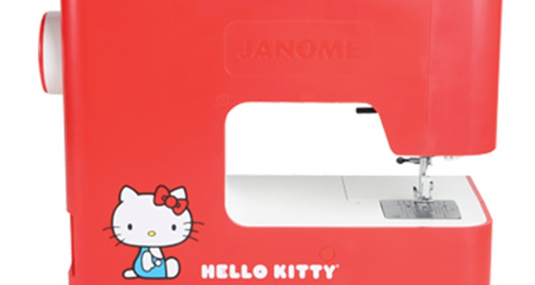 Janome America World's Easiest Sewing Quilting Embroidery Beauteous Hello Kitty Sewing Machine Instruction Manual