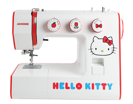 Janome America World's Easiest Sewing Quilting Embroidery Custom Hello Kitty Sewing Machine Instruction Manual