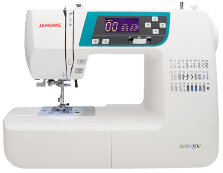 Janome America World's Easiest Sewing Quilting Embroidery Adorable Janome 2030dc Sewing Machine