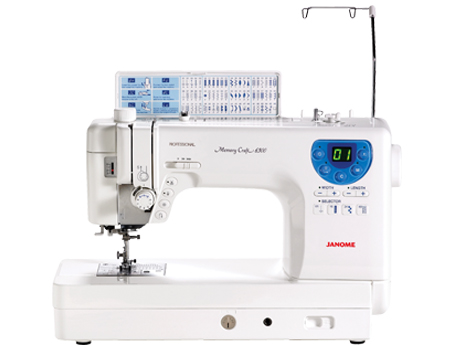 Memory craft 6300p for Janome memory craft 3000