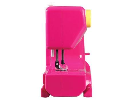 janome fast fuchsia portable sewing machine