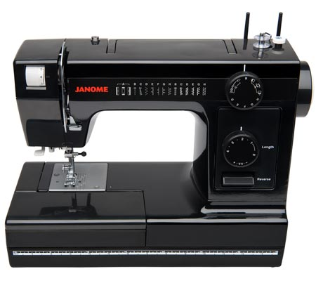 Janome America World's Easiest Sewing Quilting Embroidery Custom Janome Hd1000 Black Edition Heavy Duty Commercial Grade Sewing Machine