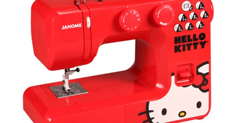 Janome America World's Easiest Sewing Quilting Embroidery Simple Janome Hello Kitty Sewing Machine