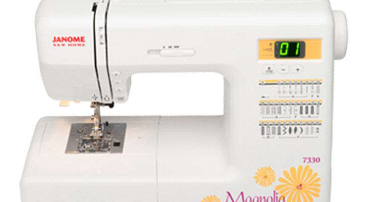 Janome America World's Easiest Sewing Quilting Embroidery Cool Janome Magnolia 7330 Sewing Machine