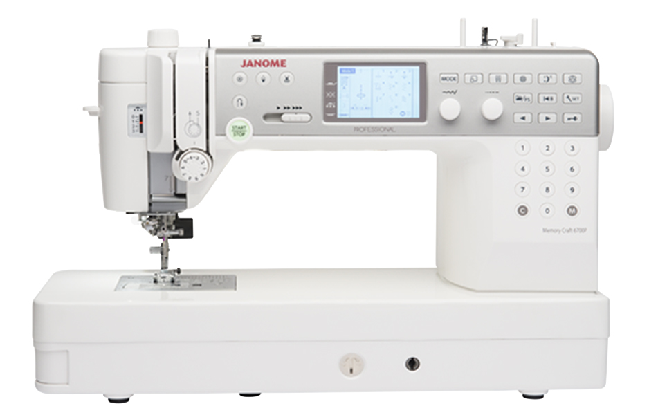 6700 feature - Janome Memory Craft 6700 Professional