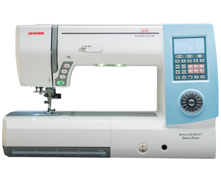 Janome America World's Easiest Sewing Quilting Embroidery Extraordinary 11 Inch Throat Sewing Machine