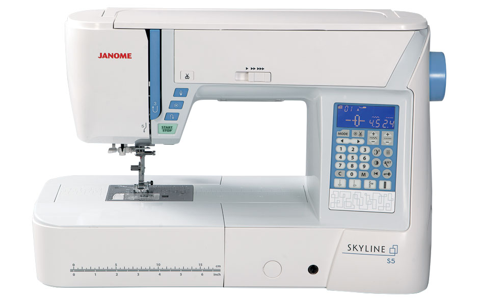 s5 feature - Janome Skyline S5