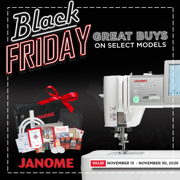 Janome Offers And Promotions