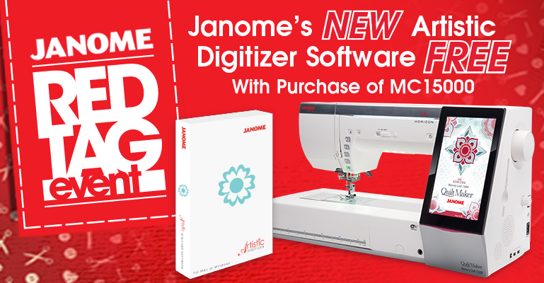Janome Red Tag Sale Delectable Sewing Machine Repair North York